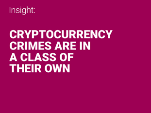 Cryptocurrency crimes article