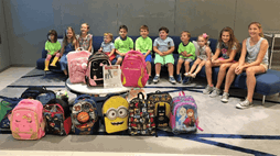 AlixGives back to Operation Backpack