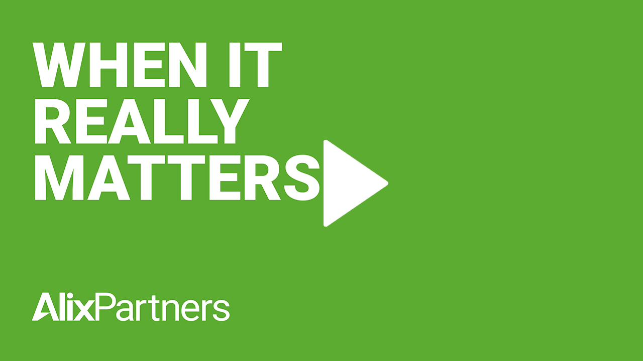 when it really matters alixpartners video cover