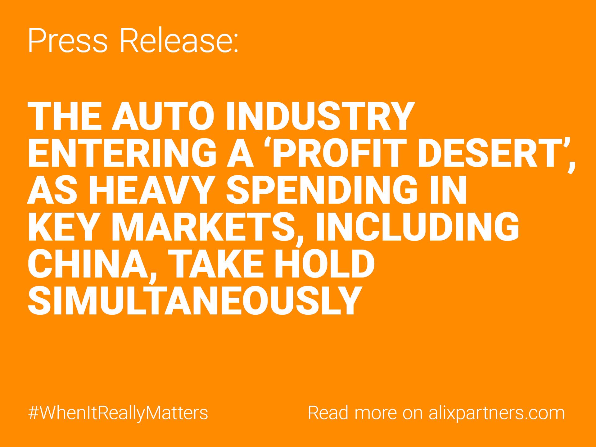 China Market Perspectives: Automotive Study | AlixPartners