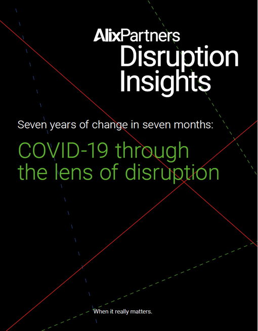 covid 19 through the lens of disruption cover
