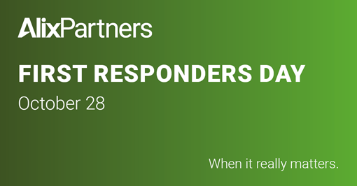 alixpartners first responders day 2020