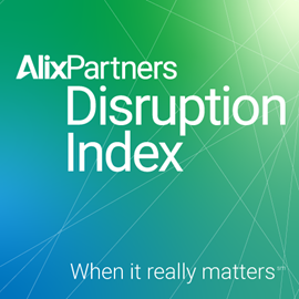 alixpartners disruption index insights 2021